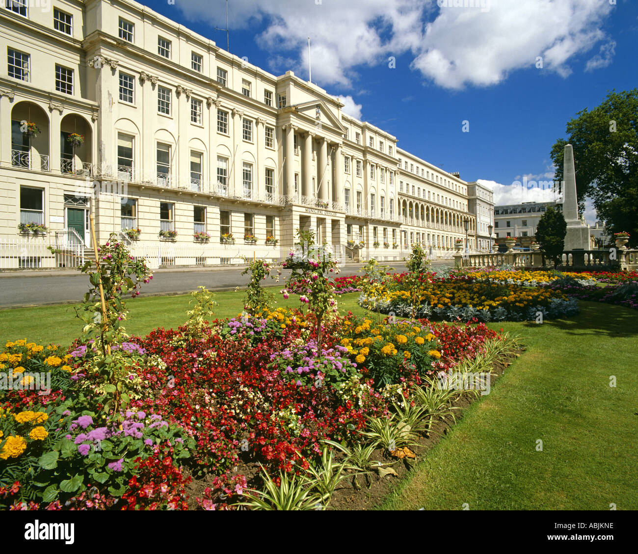 GB - GLOUCESTERSHIRE:  Municipal Offices at Cheltenham Spa - Stock Image