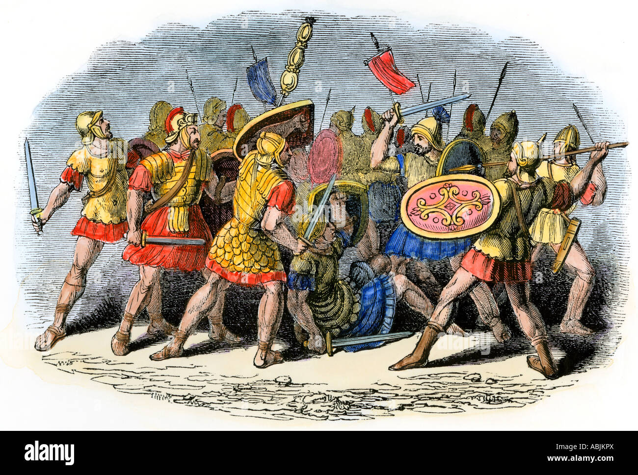 Roman Soldiers Battle High Resolution Stock Photography and Images - Alamy