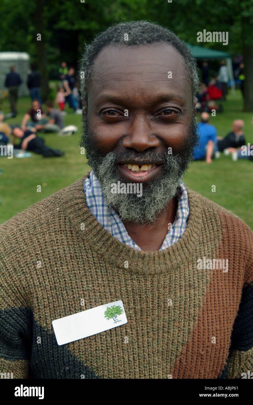 40 year old black man