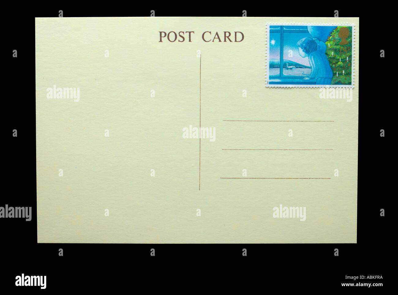 Postcard 1987 - Stock Image