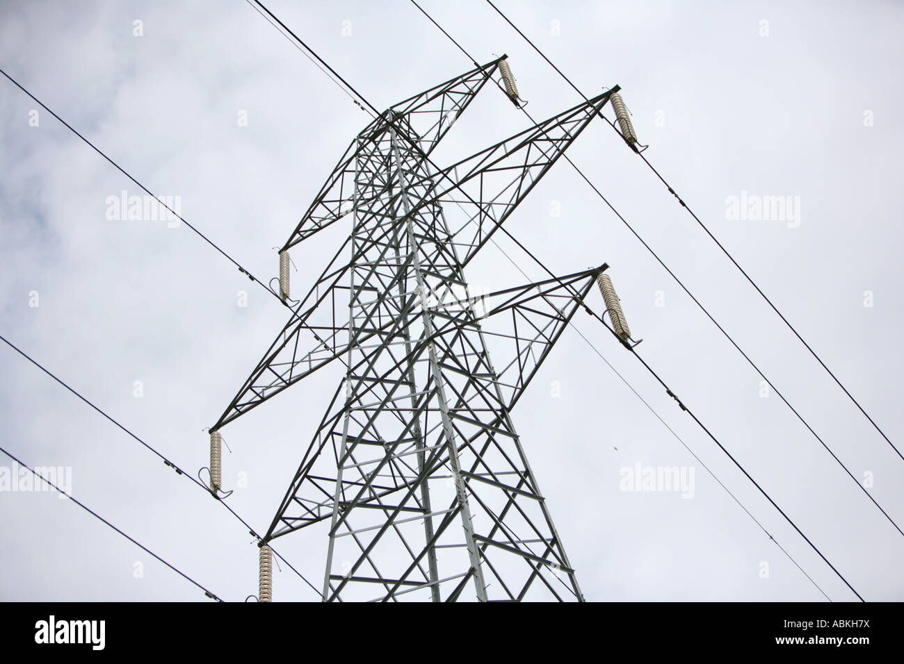 High power lines hang from Pylons, some have health concerns about ...