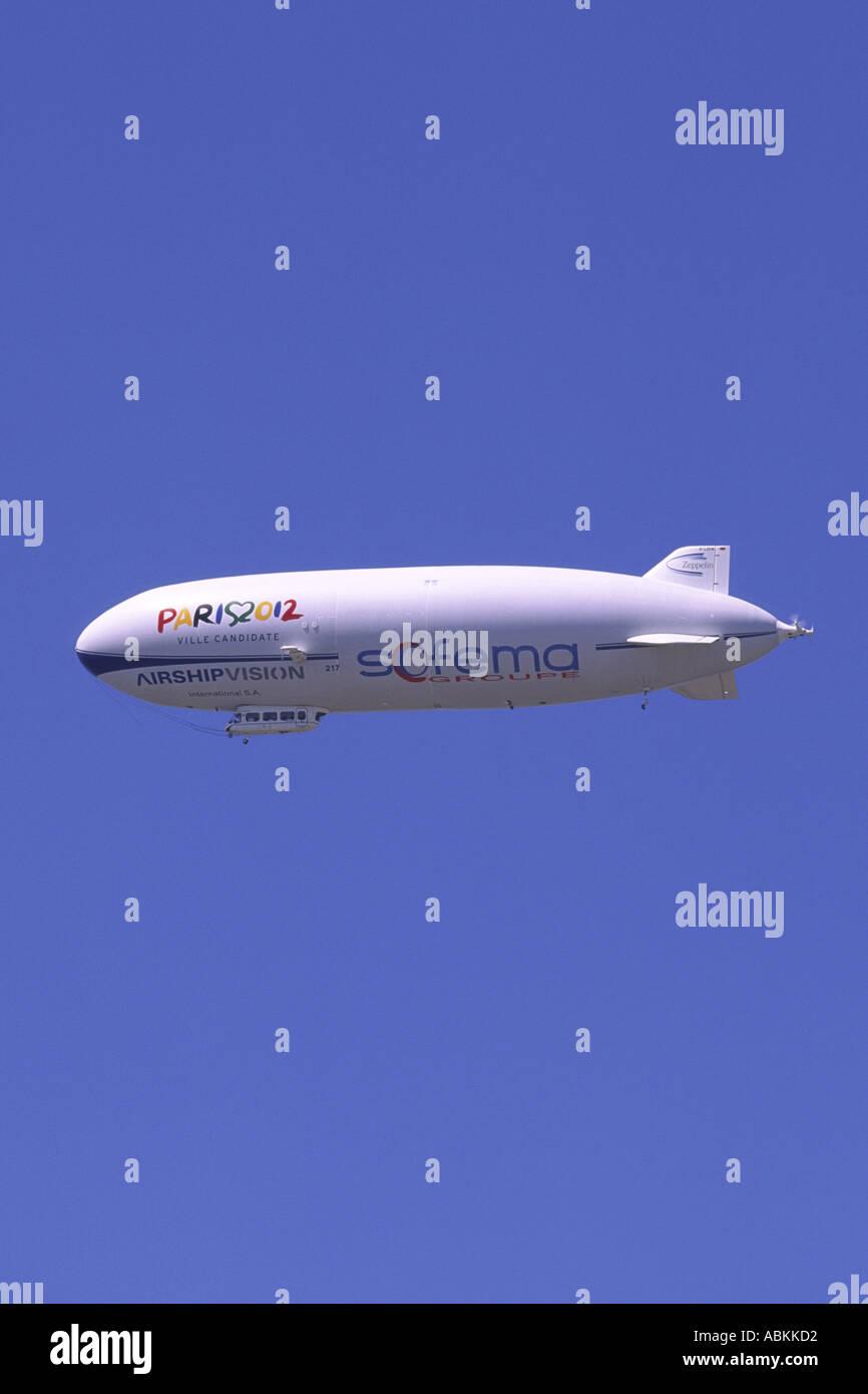 Zeppelin NT 07 Airship Stock Photo