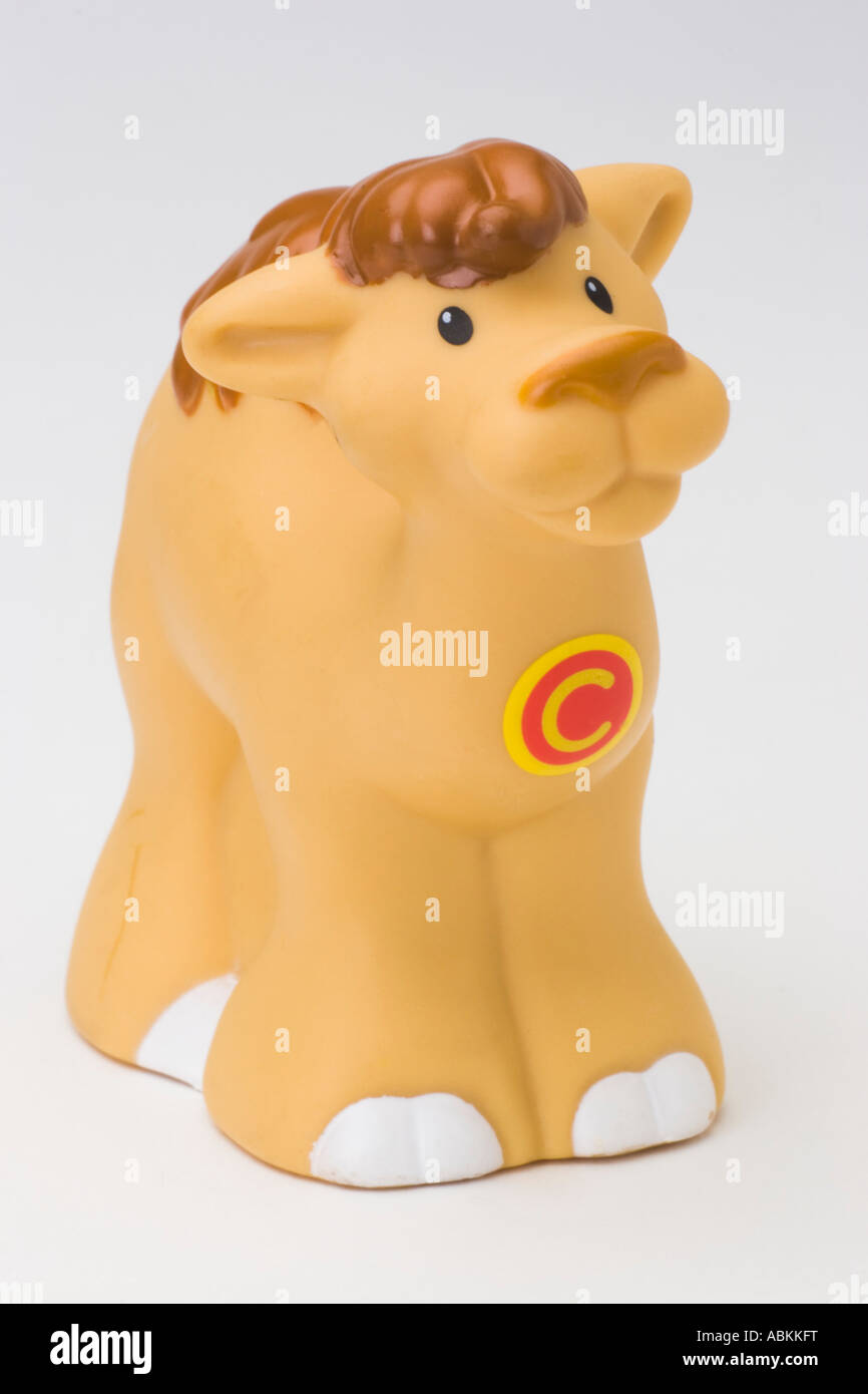 Fisher Price Toy Little People Alphabet Zoo Brown sandy Camel Stock ...
