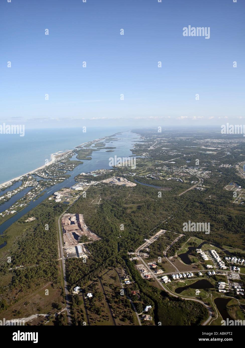 Aerial photo of North Port, Rotonda, Bocilla Island, Thorton