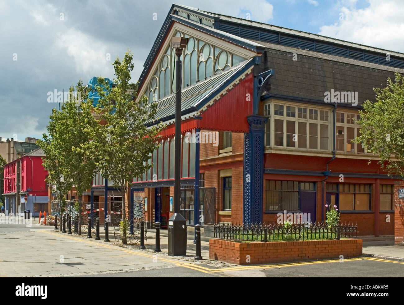 Manchester Craft and Design Centre, known as Manchester Craft Village, Manchester, England, UK - Stock Image