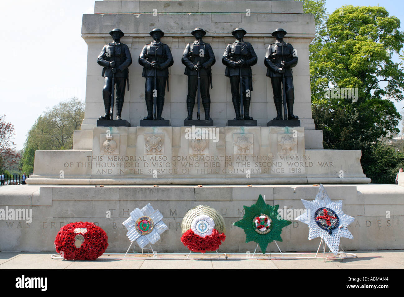war memorial opposite horseguards parade ground london england uk gb Stock Photo