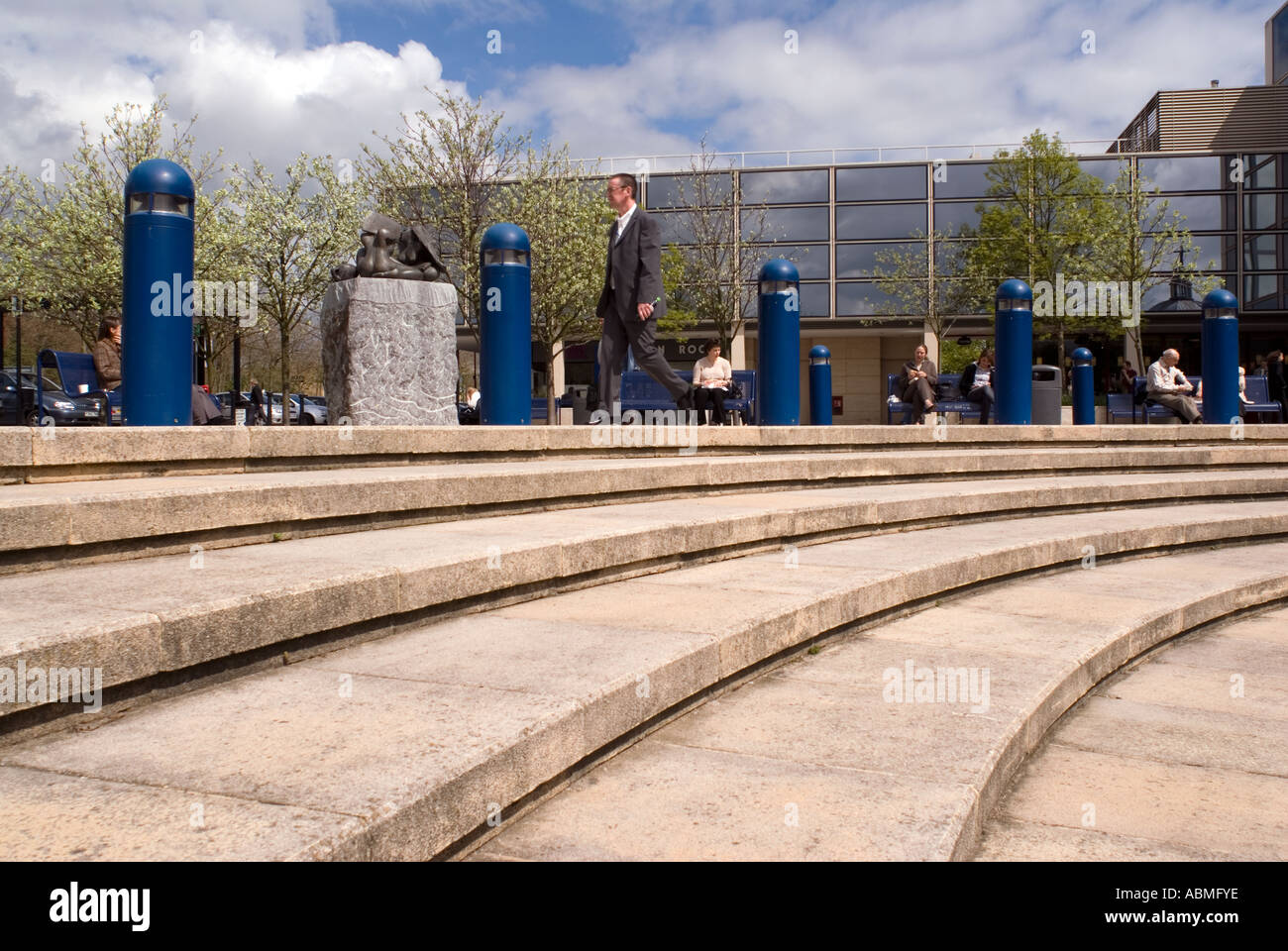 Central Milton Keynes shopping Centre - Stock Image