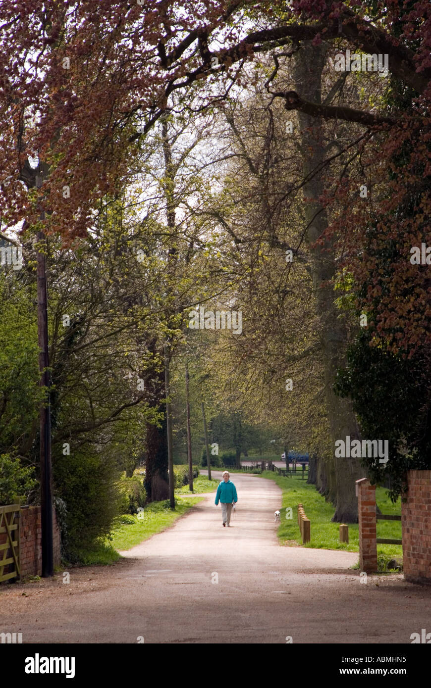 parks within the new city of Milton Keynes - Stock Image