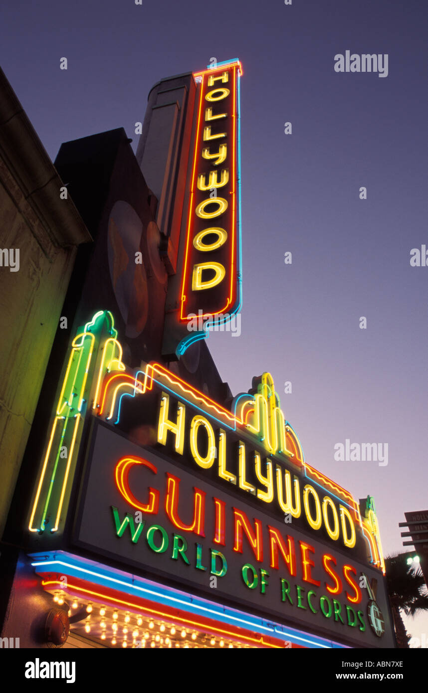 Hollywood Guinness World of Records Hollywood Los Angeles California United States of America - Stock Image