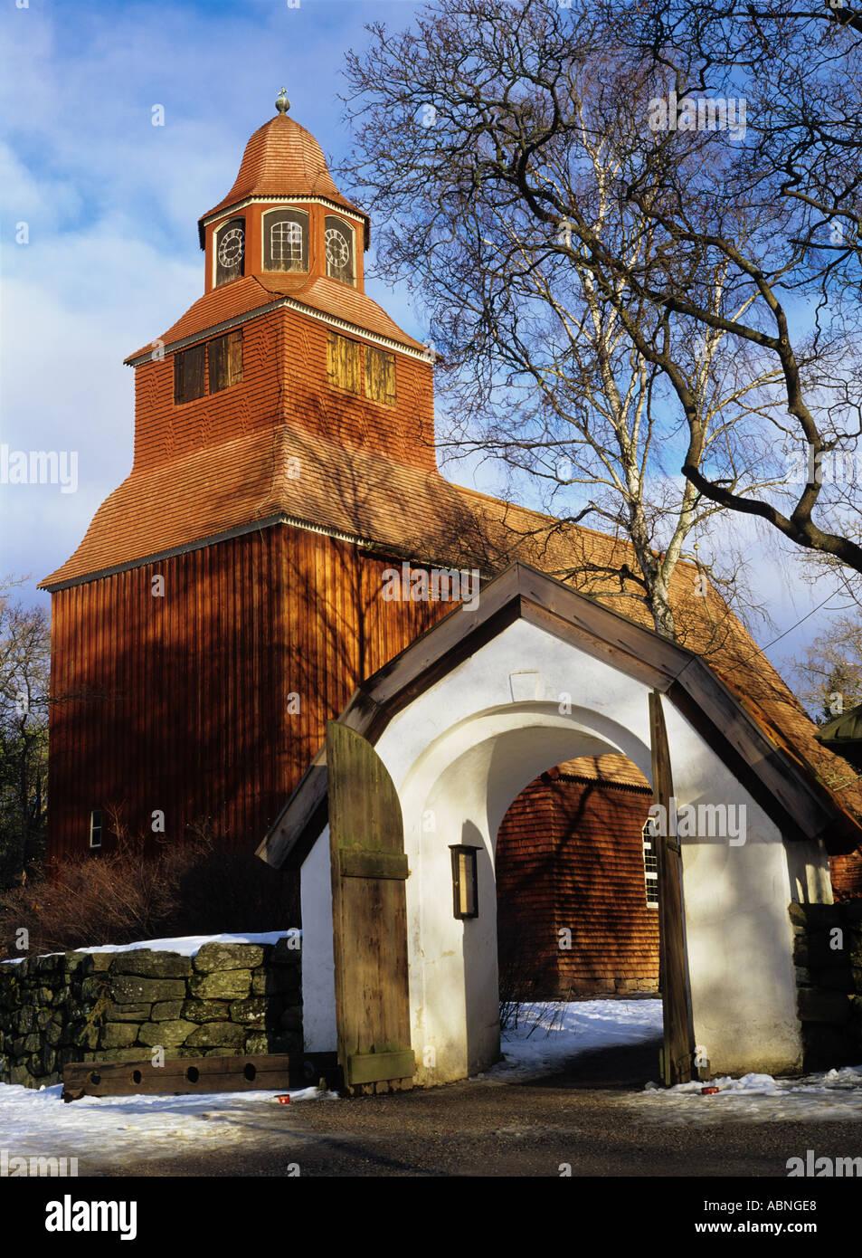 Seglora Church | Skansen
