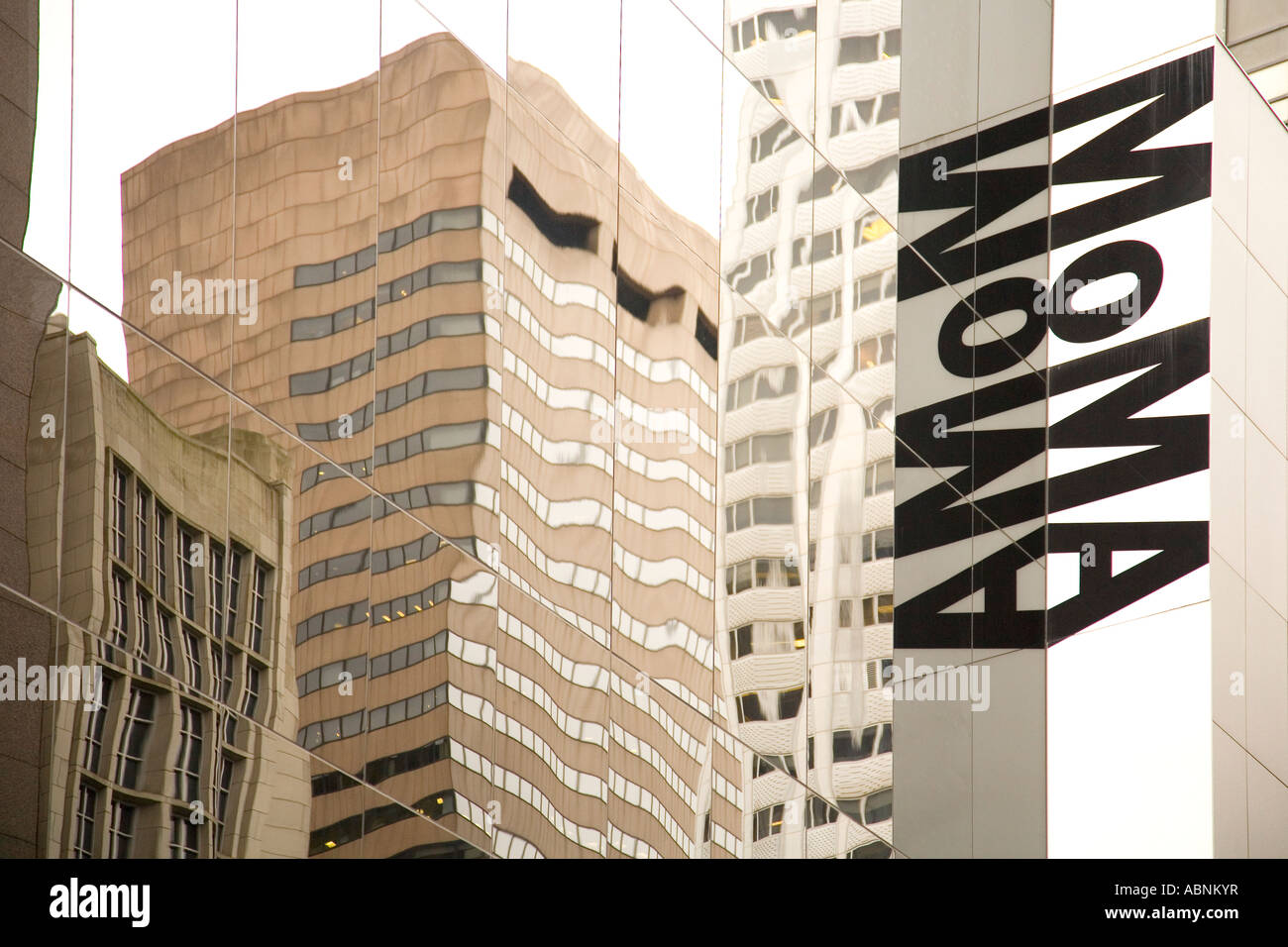 moma museum of modern art gallery sign in midtown manhattan new york stock photo 12936442 alamy. Black Bedroom Furniture Sets. Home Design Ideas