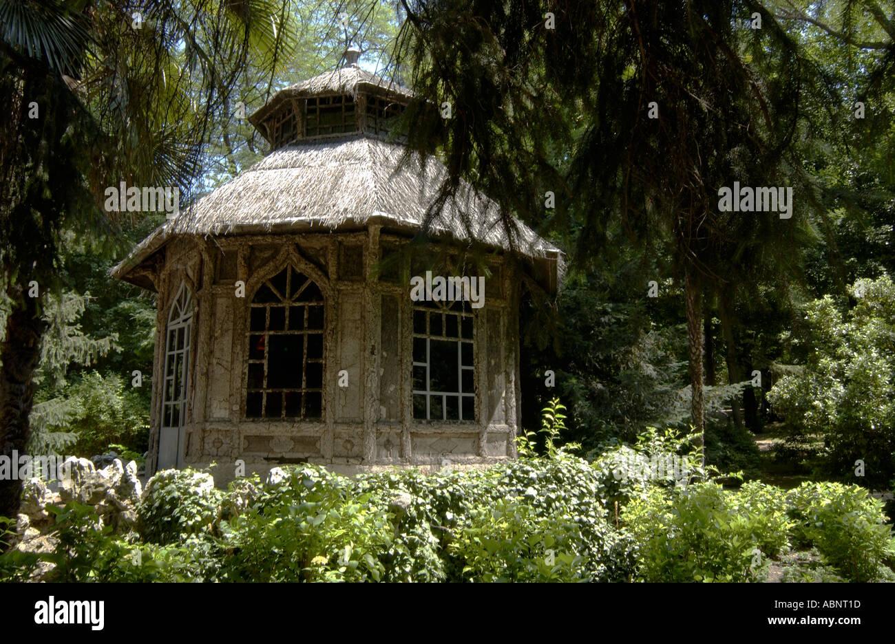 Jardines Del Campo Del Moro Madrid Spain Stock Photo 4224028 Alamy