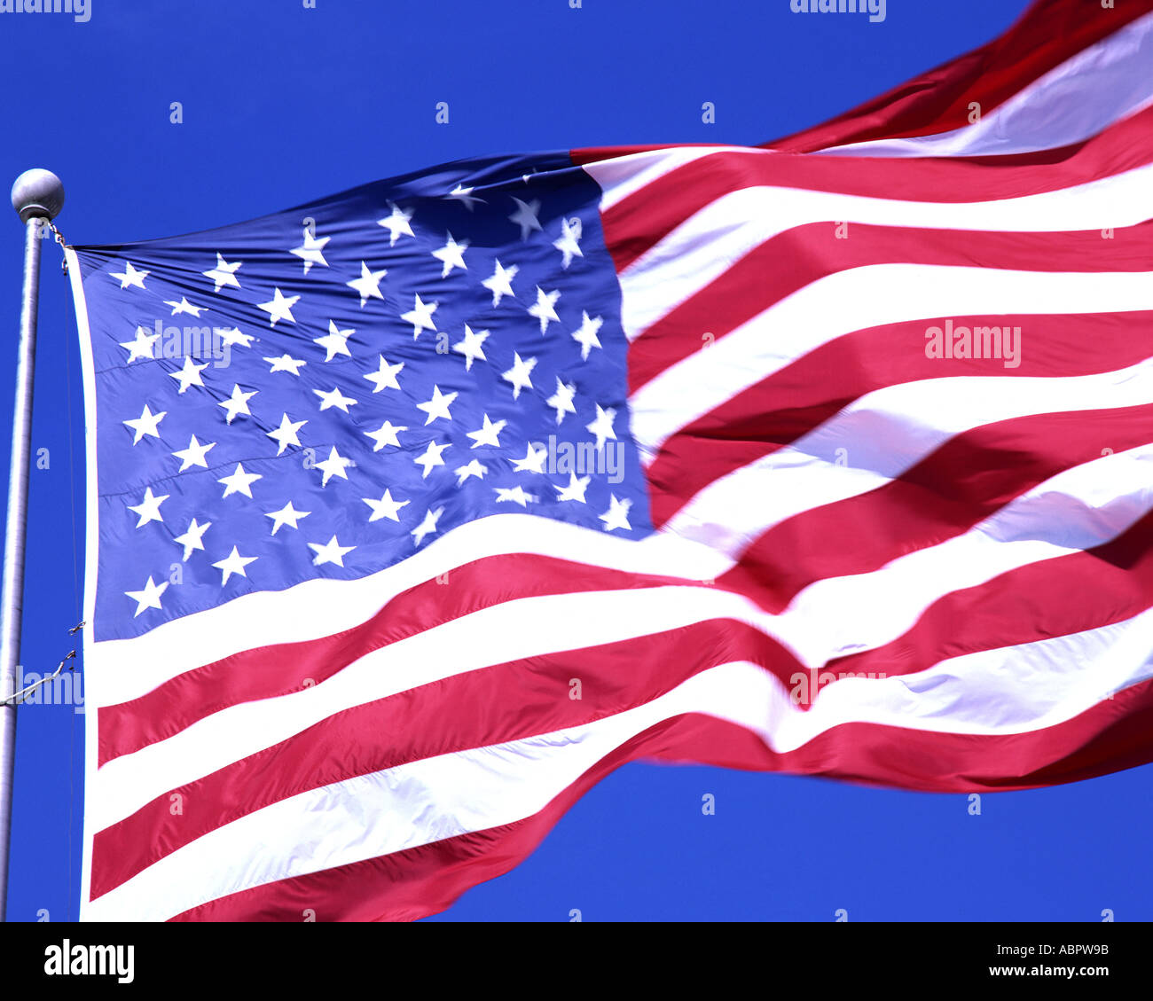 USA:  Stars and Stripes - Stock Image