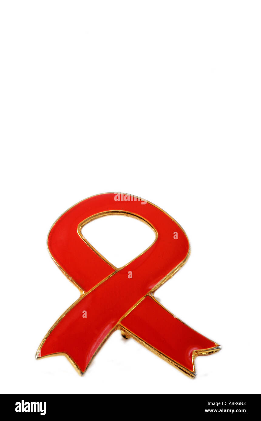 Hiv Aids Badge South Africa Stock Photo 7402322 Alamy