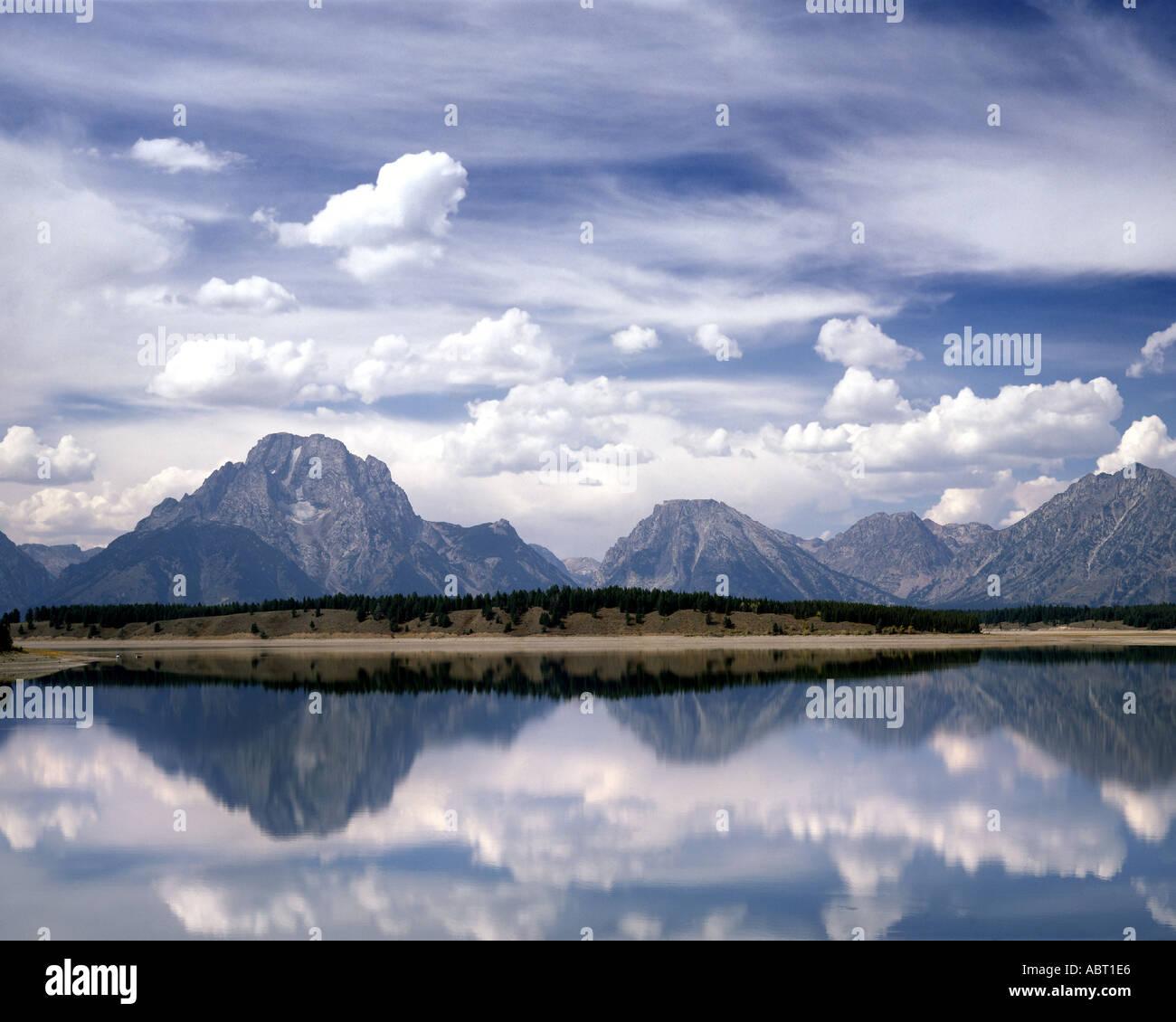 USA - WYOMING: Grand Tetons National Park - Stock Image