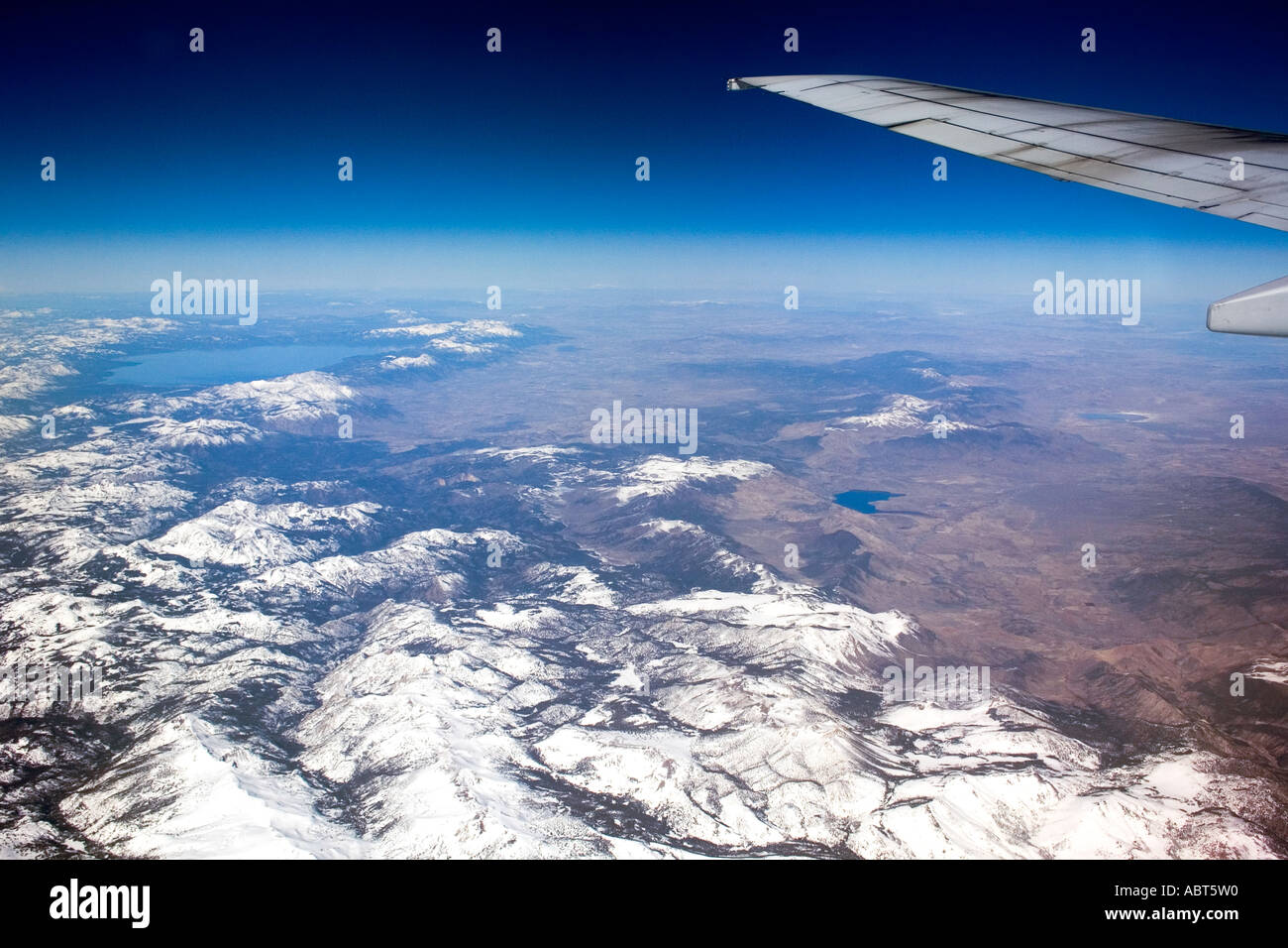 Flying over. - Stock Image