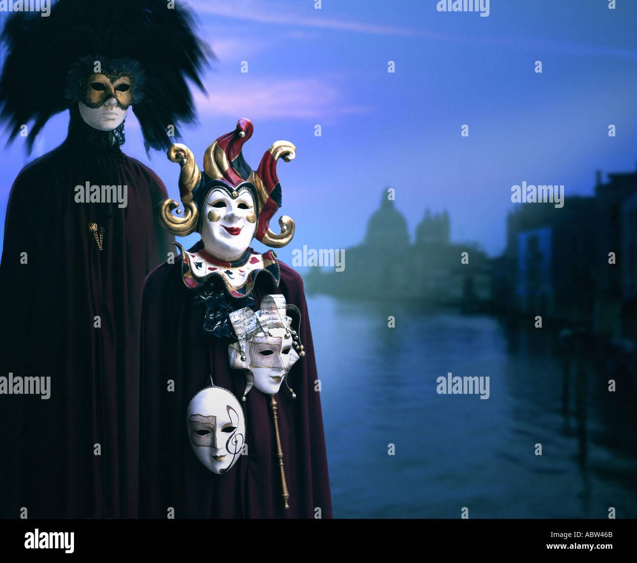 IT - VENICE: Carnival in Venice - Stock Image