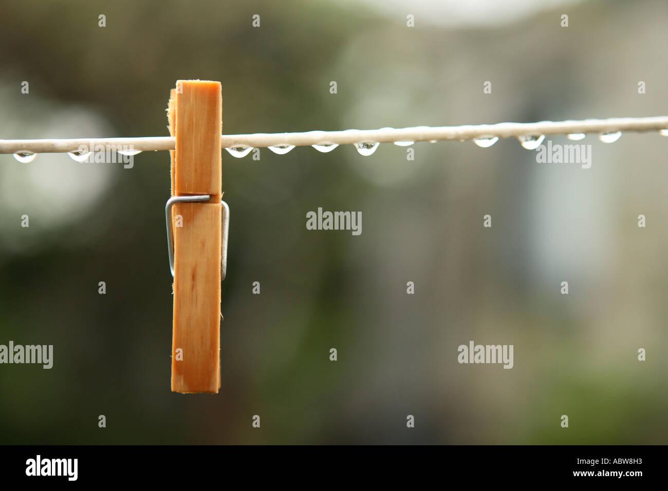 Rainy day. Stock Photo