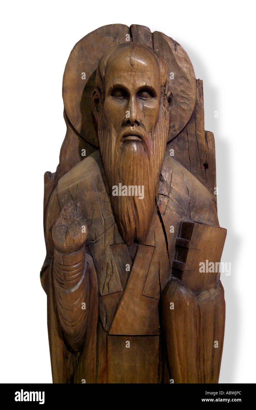 Saint st Cyril Author Alphabet Cyrillic Slavonic Russia Russian Bulgarian Serbian Serbo Croatia Croat Apostle Slav slavia Greek - Stock Image