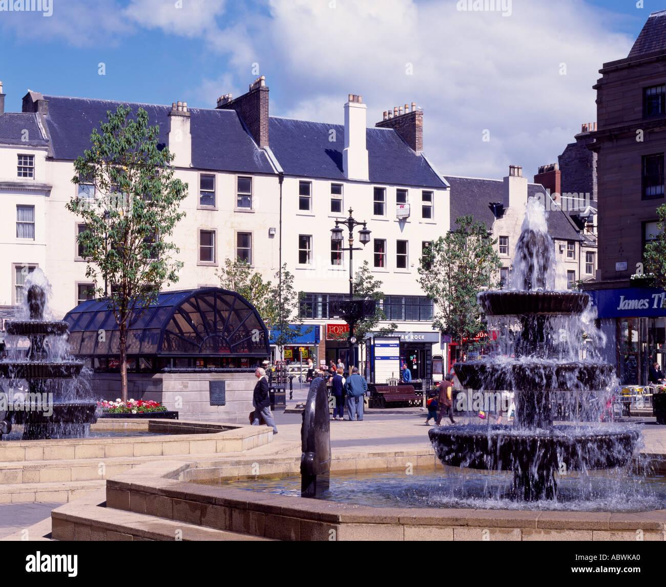City Square, Dundee, Scotland, UK - Stock Image