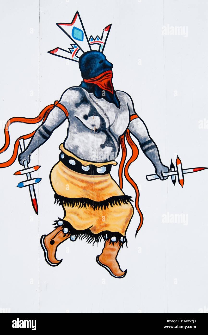 navajo indian paintings stock photos navajo indian paintings stock rh alamy com Cartoon Phoenix Phoenix Logo