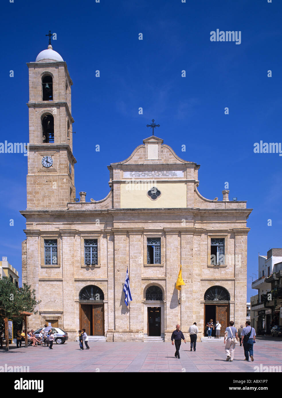 Greece Kreta Hania Chania Kathedrale Cathedral  Trimartiris Trimartiri Trimartyri Stock Photo