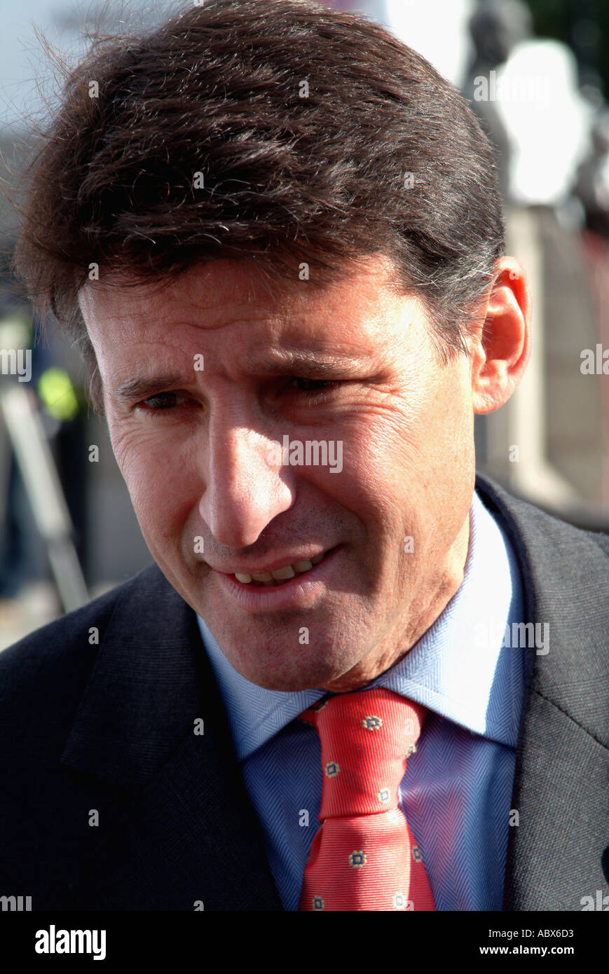 Sebastian Coe head of British Olympic committee 2012 - Stock Image