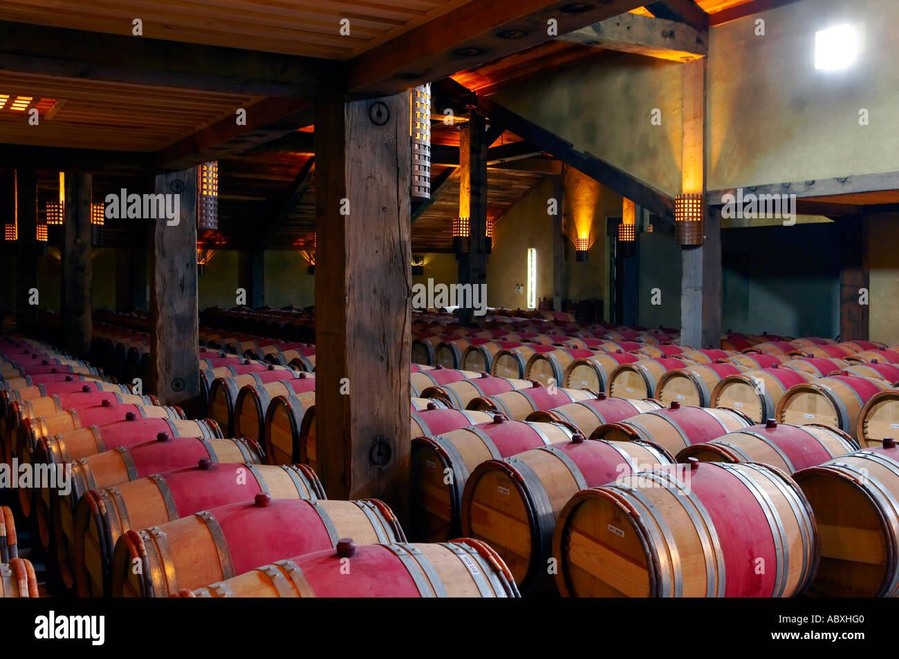 Tom Mcdonald Cellar At Church Road Winery Taradale Hawkes Bay New Zealand Stock Image