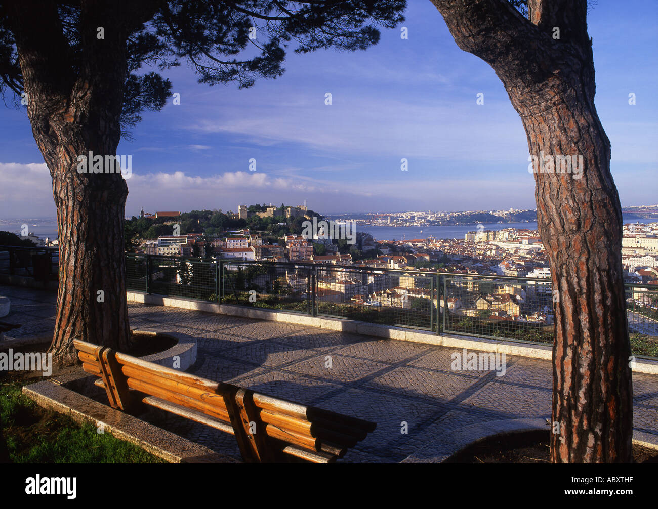 Senhora Do Monte Lisboa View High Resolution Stock Photography And Images Alamy