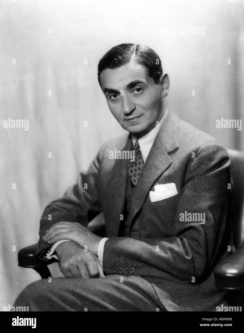 IRVING BERLIN 1888 1989 American composer and lyricist - Stock Image