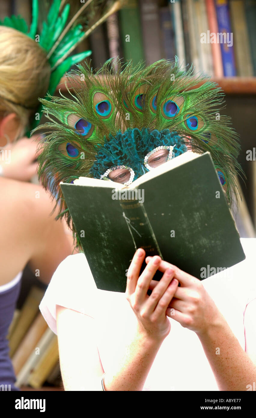 THE HAY ON WYE BOOK FESTIVAL - Stock Image