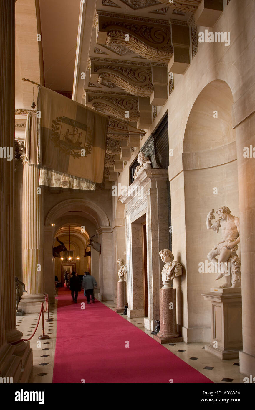 8 Door Excursion >> England Oxfordshire Woodstock Blenheim Palace interior vaulted Stock Photo: 4242825 - Alamy