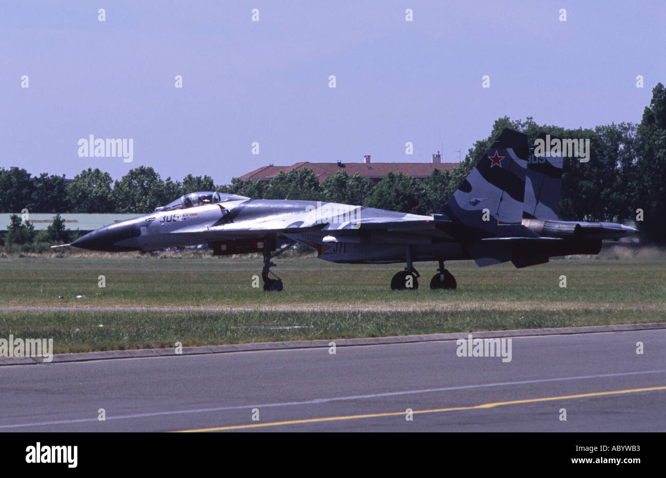 Sukhoi Su 27 SMKL Flanker - Stock Image