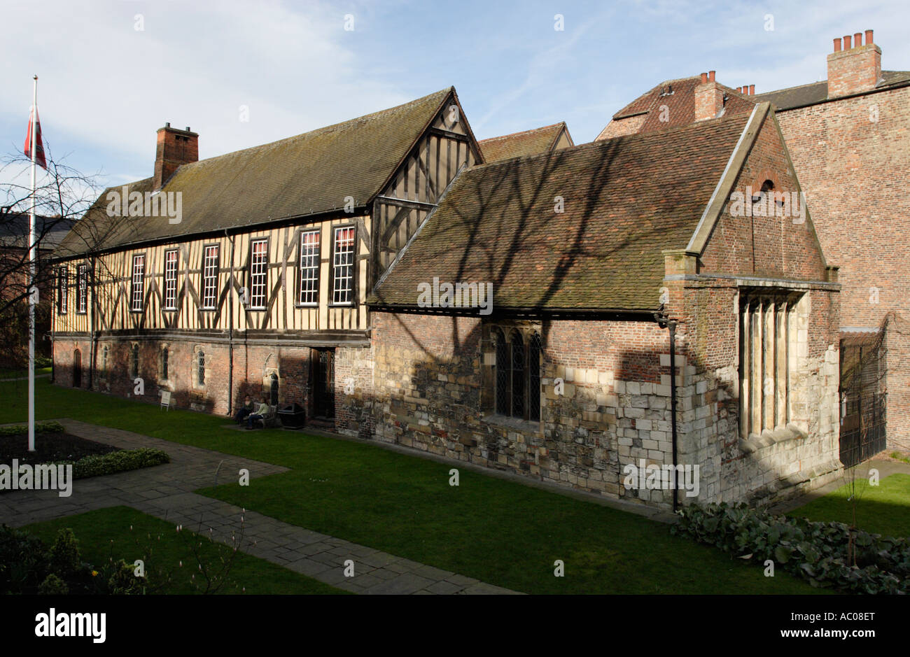 Merchant Adventurers Hall, York - Stock Image