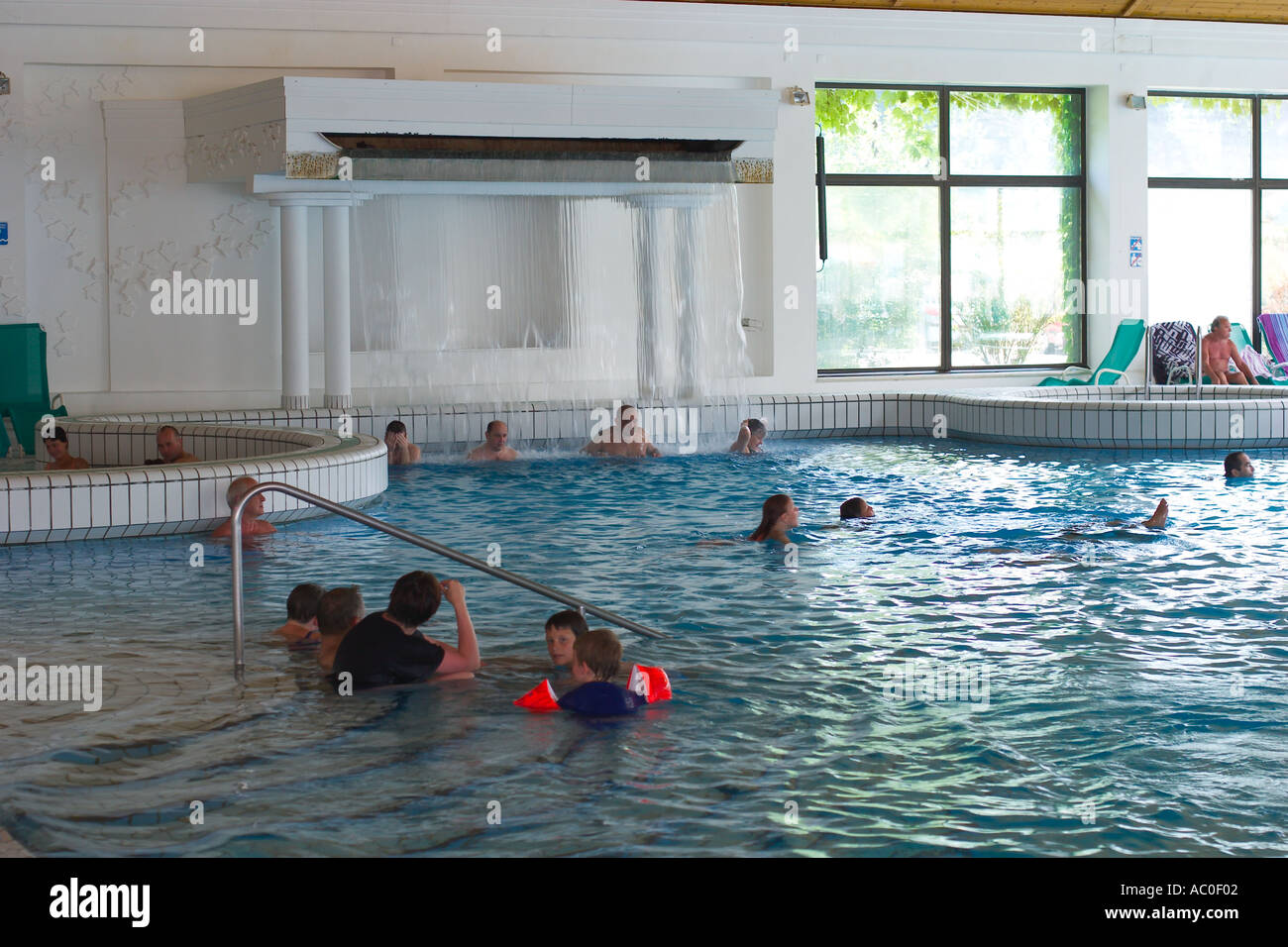 Health spa of the hot spring Olimia thermal bath in Podcetrtek Stock ...