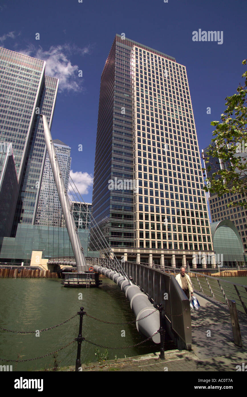 Canada Square and 40 Bank Street Canary Wharf London Stock