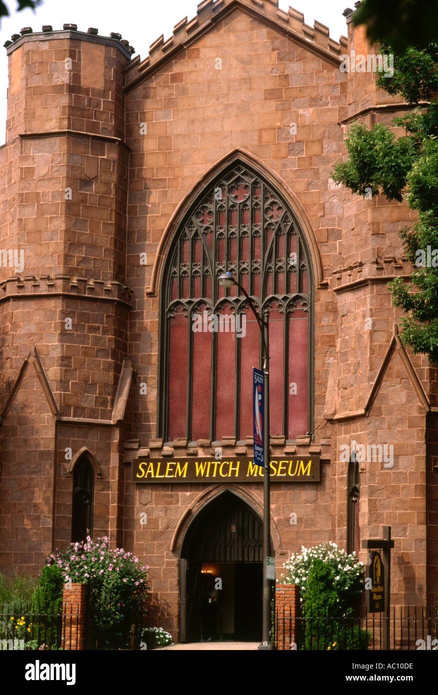 USA Salem Witch museum - Stock Image
