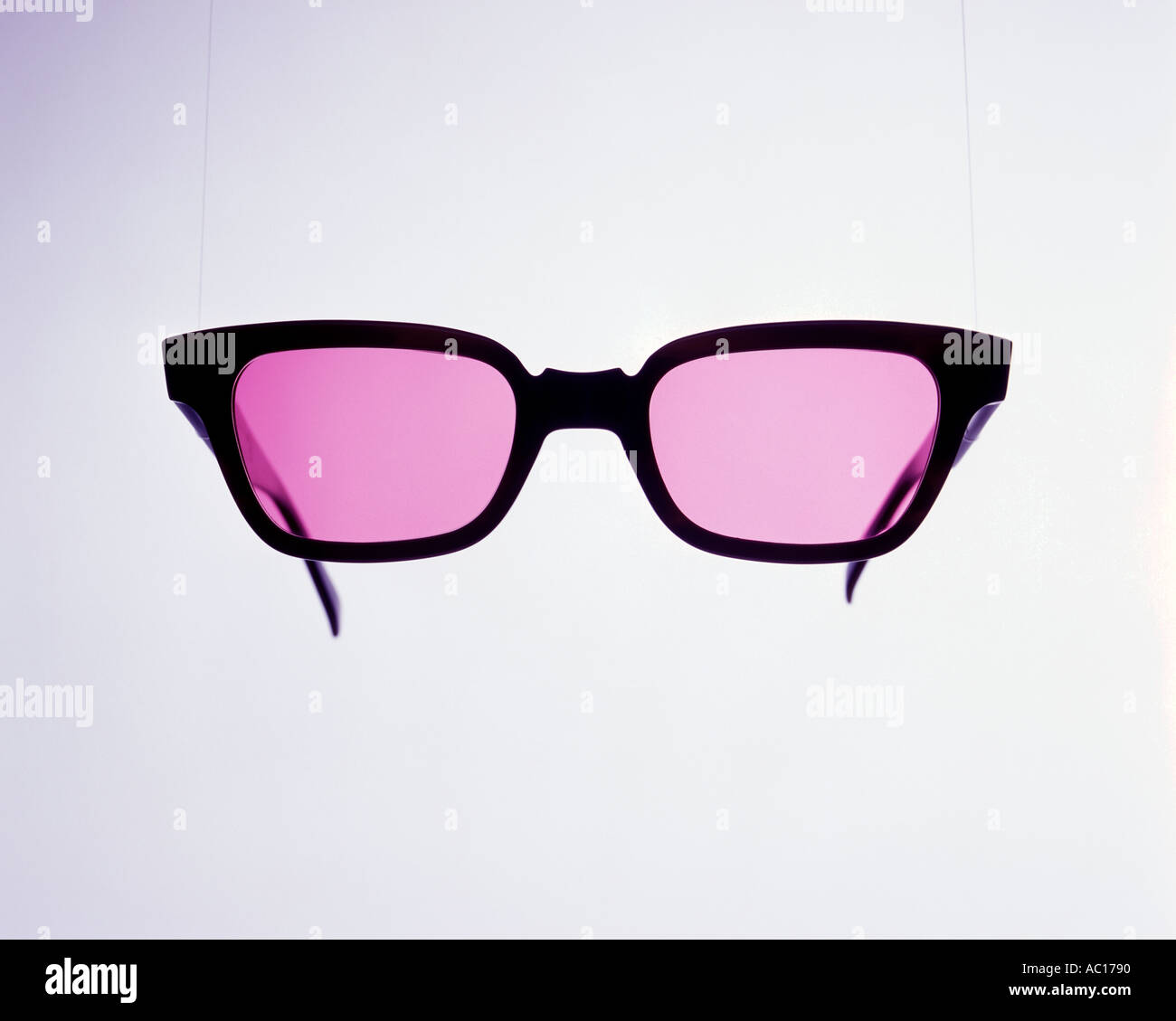 Pink Sunglasses - Stock Image