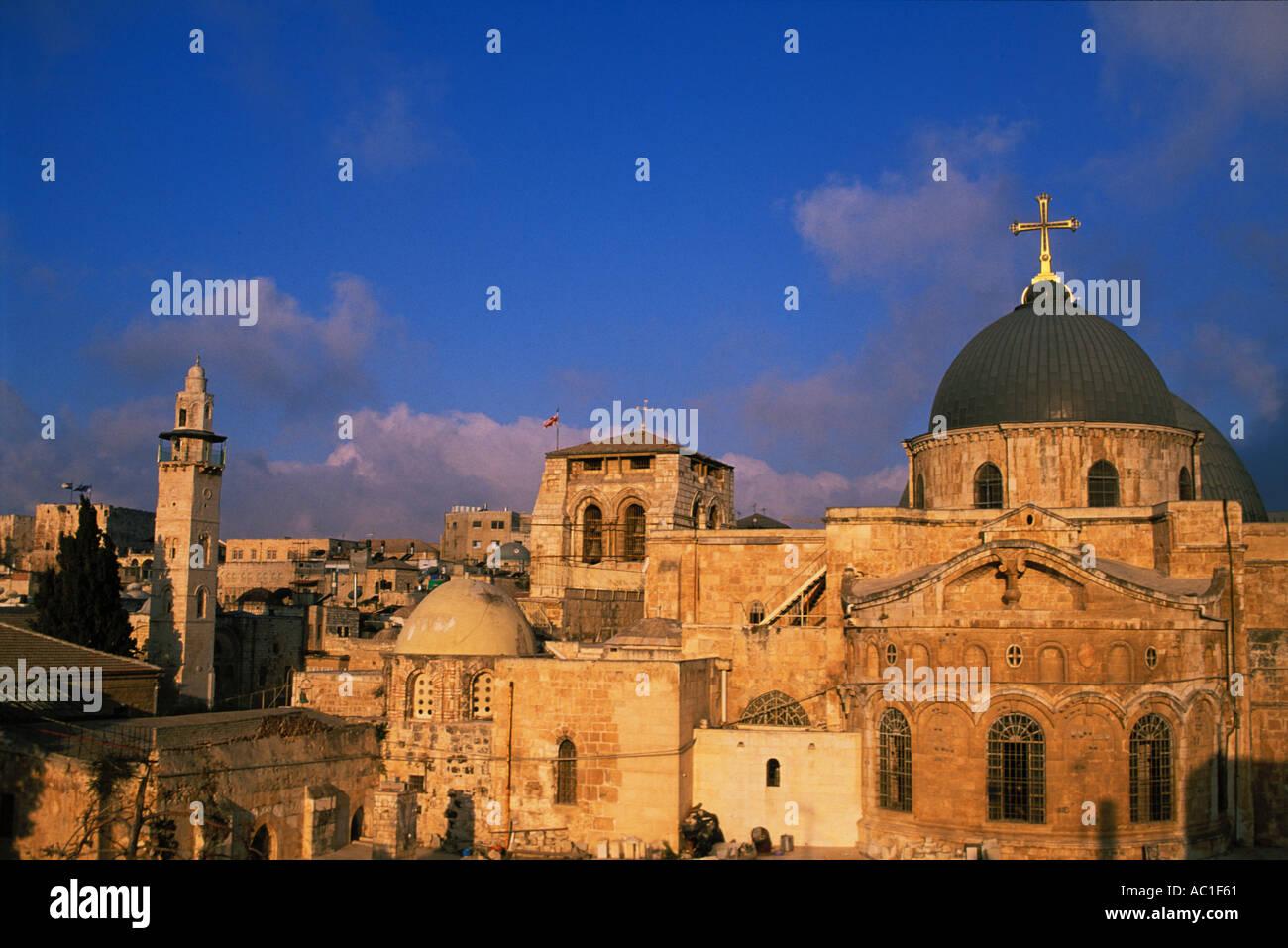 Israel, Jerusalem, Church of Holy Sepulchre - Stock Image