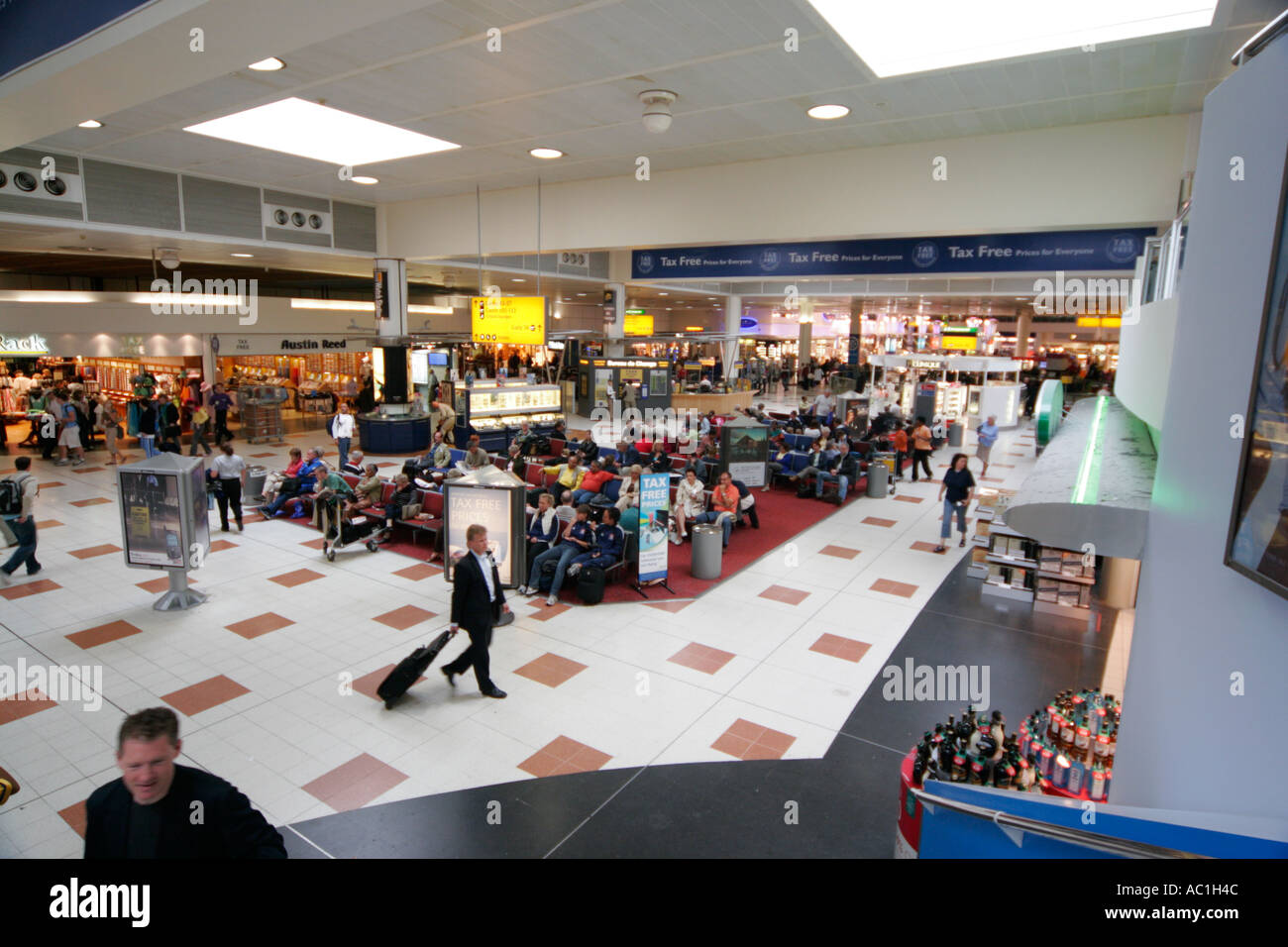 418f8f4e9ab Gatwick Airport London England UK North terminal departure lounge shopping  shop duty free tax free people travel travellers