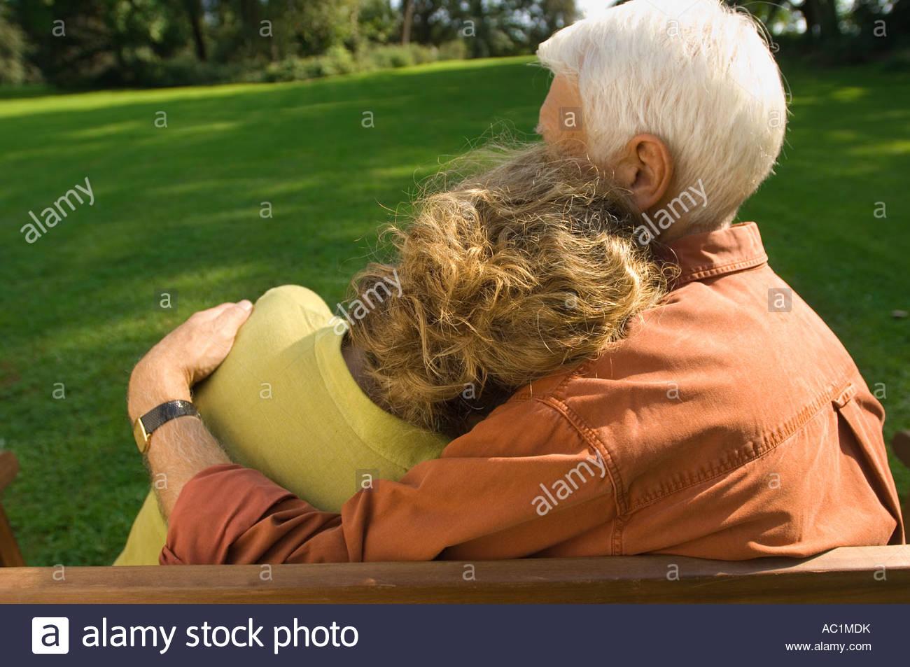 A mature couple - Stock Image