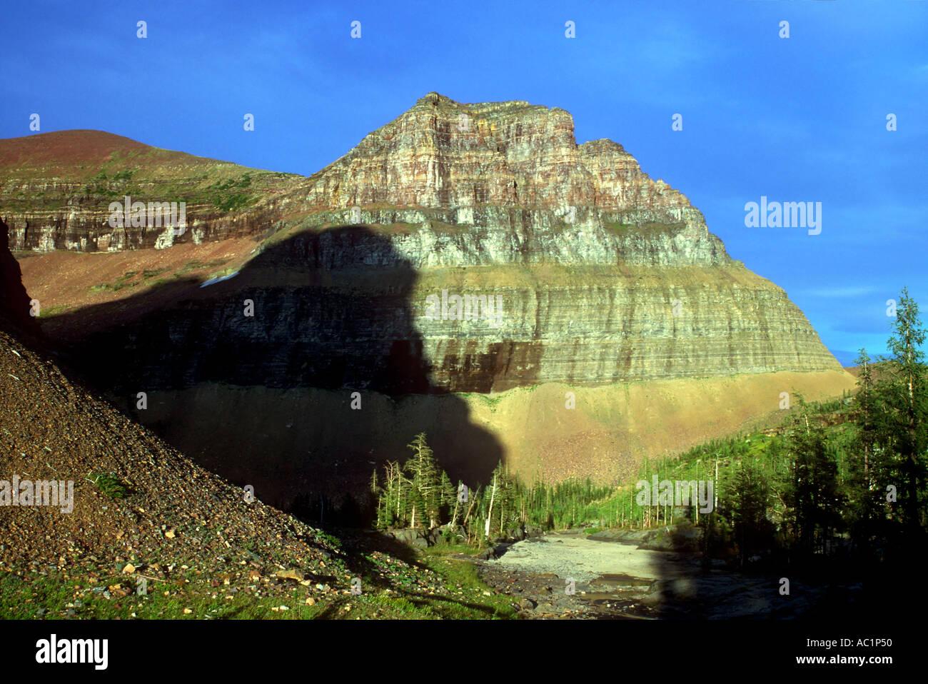 Glacier Basin Campground Stock Photos & Glacier Basin