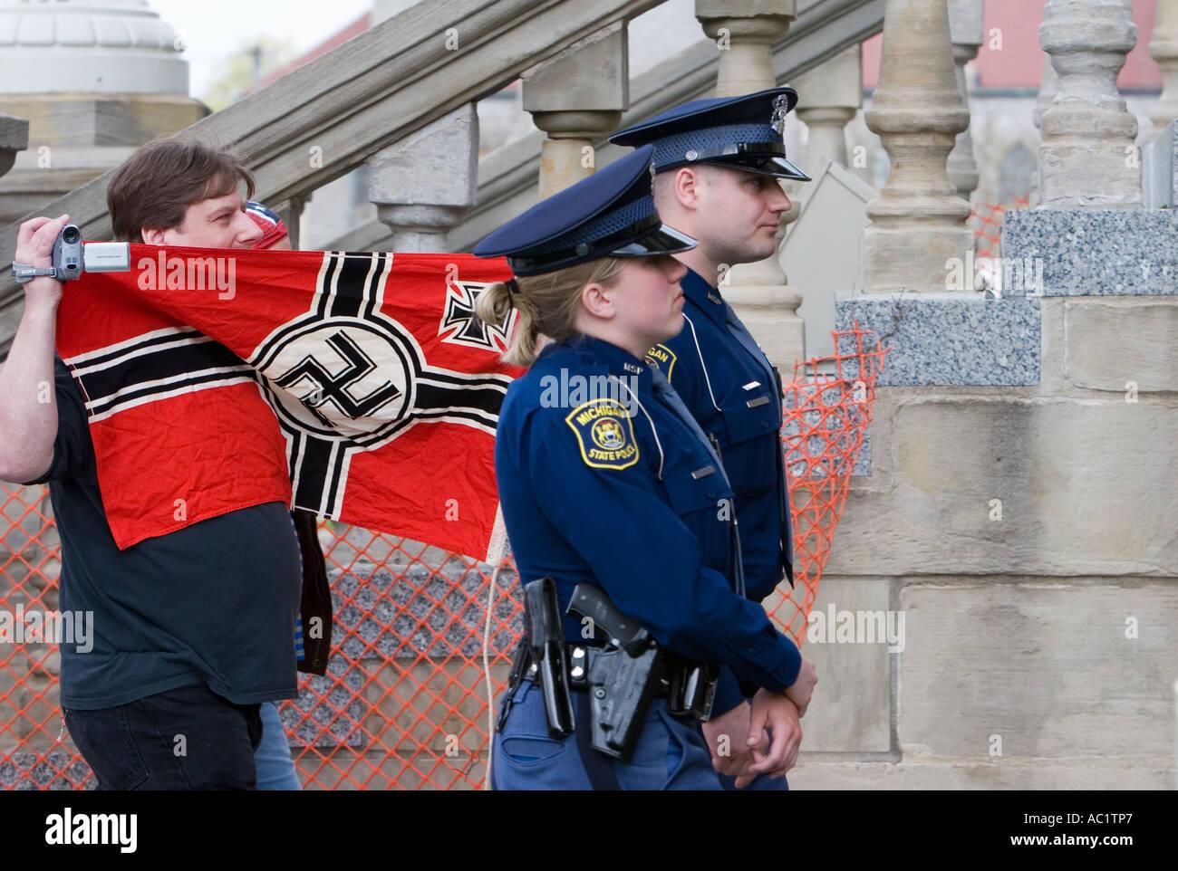 Nazi Rally - Stock Image