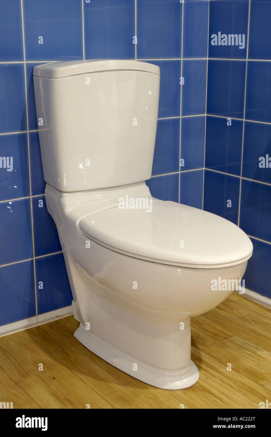 Domestic toilet WC - Stock Image