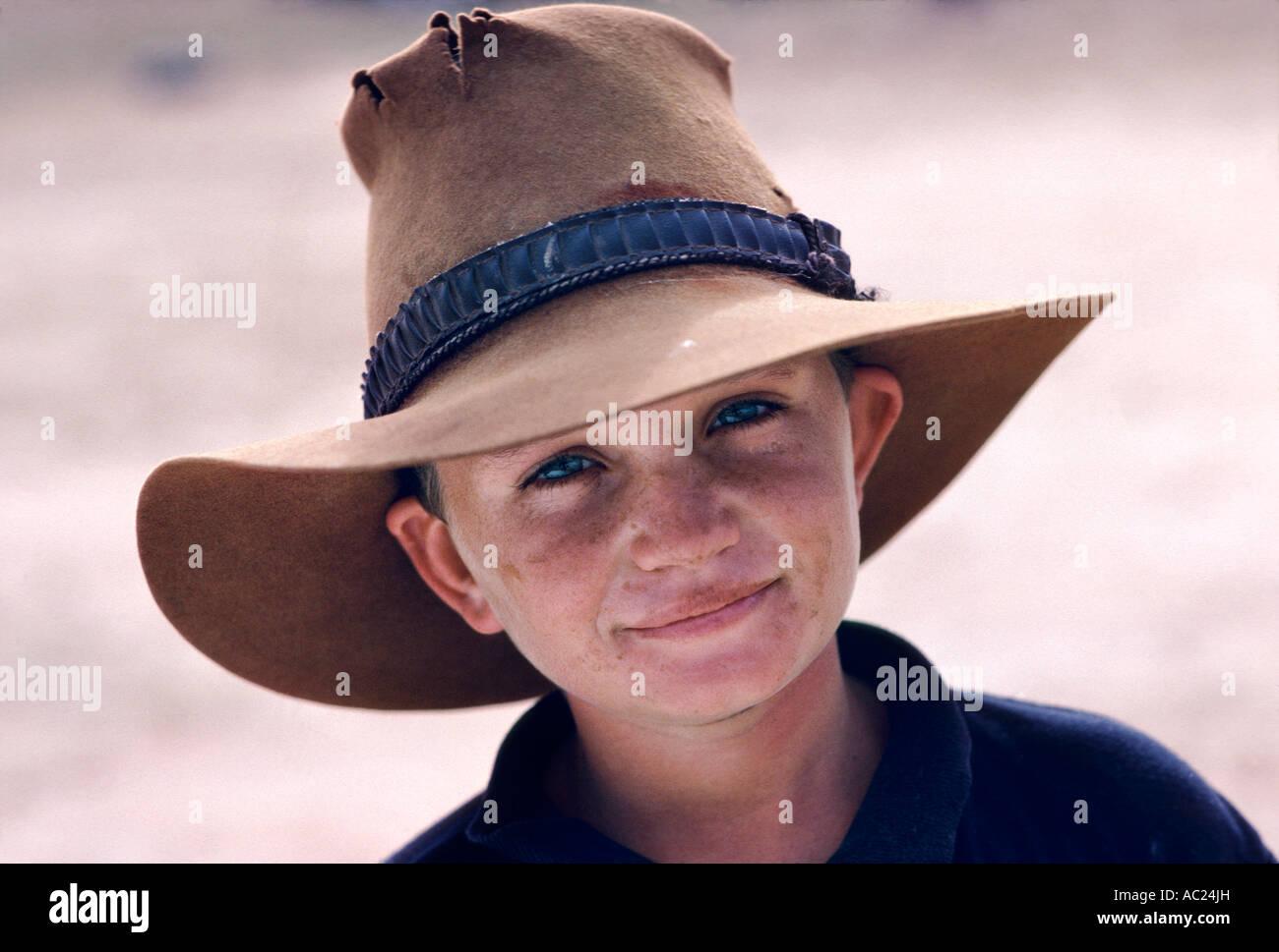 1815fe4f8b8 Face Akubra Hat Stock Photos   Face Akubra Hat Stock Images - Alamy