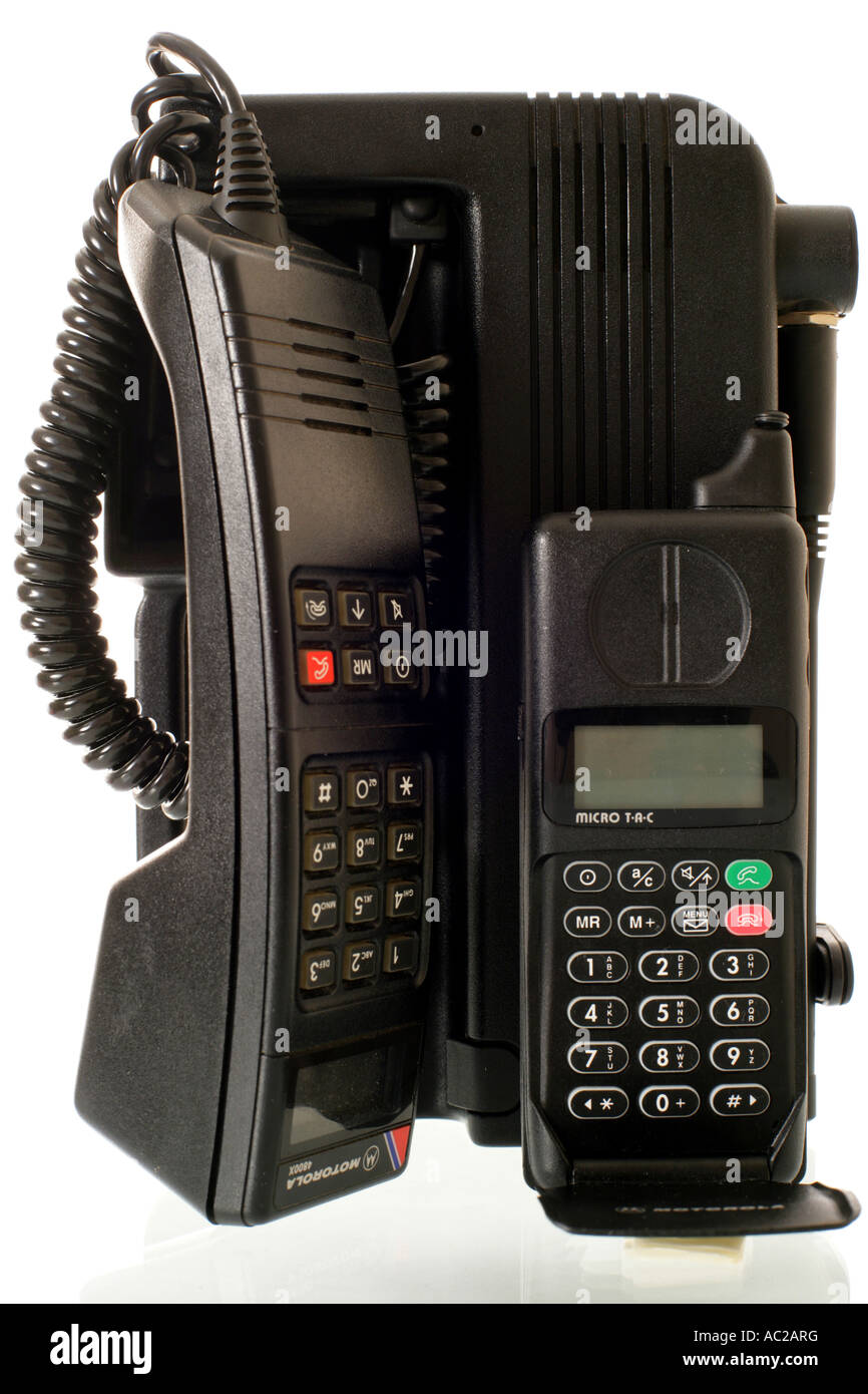 'Old mobile phone' - Stock Image