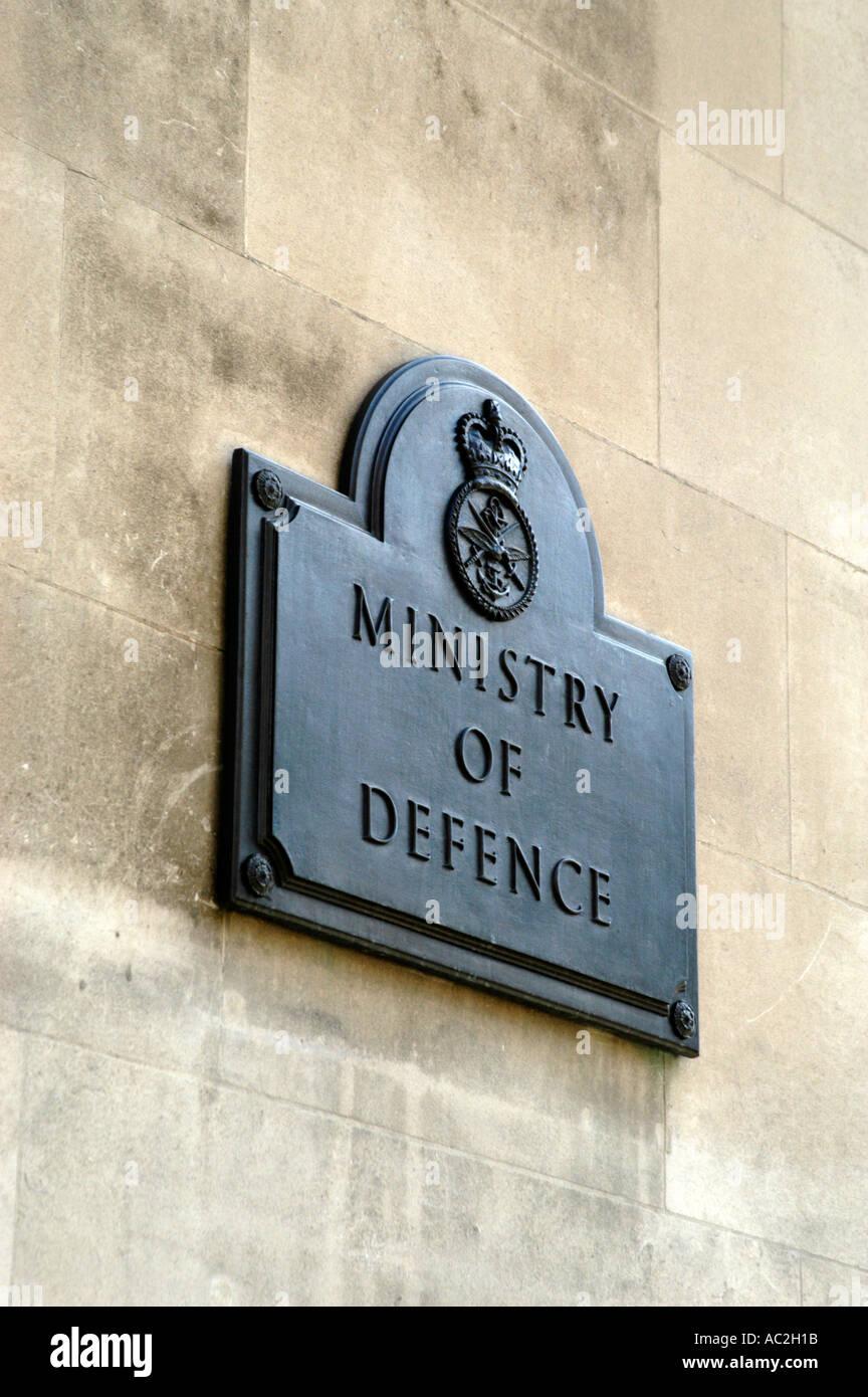 Ministry of Defence MOD Whitehall, London, England Britain UK Stock Photo