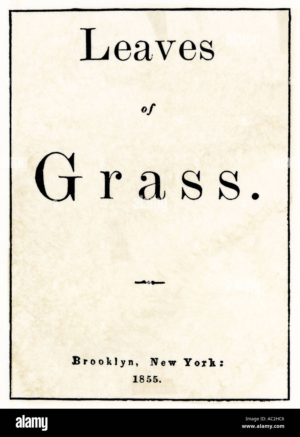 walt whitman leaves of grass poem