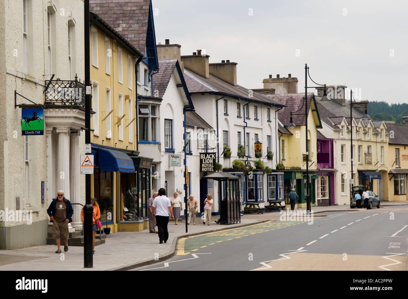 Lampeter Ceredigion Wales Gb Stock Photo 13022064 Alamy