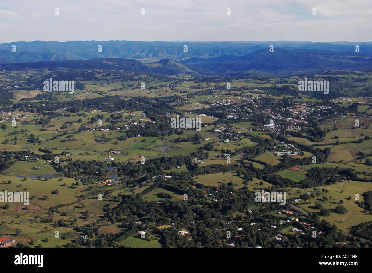 Maleny, Sunshine Coast Hinterland - Stock Image